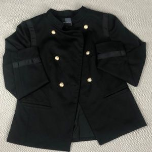 The Limited double breasted military jacket